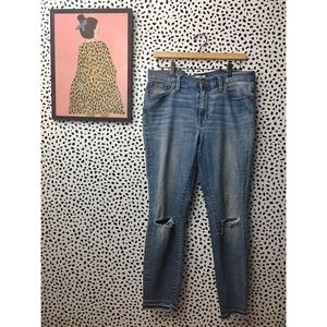 Madewell High Rider Skinny Jeans